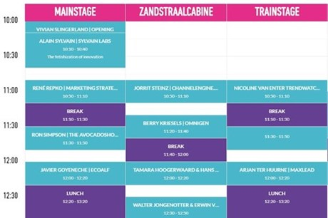 Retail & Brands Festival Timetable