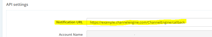 adding the order callback URL for Woocommerce